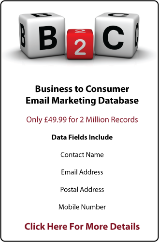 Consumer Email Database
